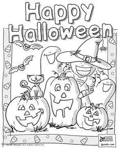 25 halloween bilder zum ausmalen - kostenlos ausdrucken | halloween motive zum ausdrucken
