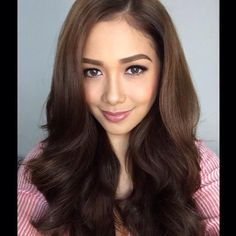 Maja Salvador, Filipina Beauty, Redheads, Long Hair Styles, Hot, Color, Red Heads, Long Hairstyle, Colour