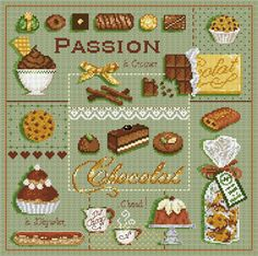 click here to view larger image of Passion Chocolate (chart)
