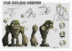 """The Golem Keeper""  joshaddessi Artwork http://joshaddessi.blogspot.com"
