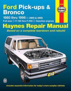 F-350 Bronco 1973-1979 Service Repair Haynes Workshop Manual Ford Trucks F-150