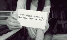 Whether it's a LDR, break-up, or a casual fight... Never regret!