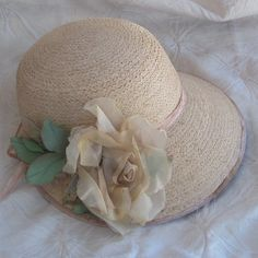 Cloche hat reminiscent of the flapper hats for Downton Abbey,  a summer day or golf hat