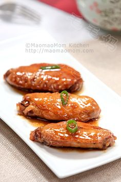 【Braised Chicken wings in oyster sauce】  by MaomaoMom I made this dish for dinner, both my son and my husband loved it so much. So I am sharing this easy recipe with you, you need to try it.
