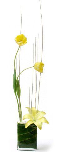 Ikebana flowers