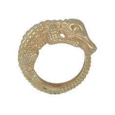 Crocodile Ring - in Ancient Egypt, sailors on the River Nile wore a crocodile charm to ward off danger. Our Crocodile Ring will keep you safe from harm.