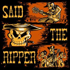 """""""The Hanging at Barbed Wire"""", a new spaghetti western album by Said The Ripper is now released and available for download at these places..."""
