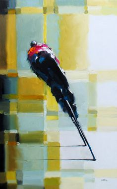 Harold Braul Peloton Series Oil on Canvas 48x30