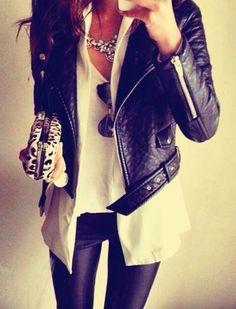 Yep. I want a motorcycle jacket.