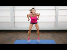Bye Bye Cottage Cheese Thighs: 5-Minute Leg Workout | Class FitSugar - YouTube