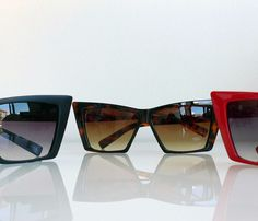 Corvette Sunglasses // super edgy! #productdesign #wearabledesign