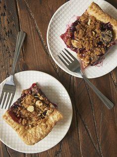 cherry plum slab pie