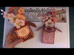 Coccinellenellescrap.blogspot.fr: Carte-Box Orchidées grimpantes