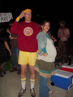 23 Ways to Disguise Your Baby Bump on Halloween - Mommy Shorts