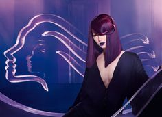 ROXY: Inspired by the rebirth of underground club couture' she draws all eyes to her. The born extrovert, every movement is a statement and every step designed to take your breath away. *Wella TrendVision 2012*