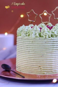 recette layer cake pistache framboise Sweet Pastries, Pistachio, Layers, Mint, Fruit, Birthday Cakes, Party, Brunch, Recipes