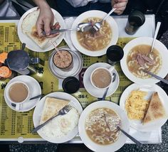 Breakfast in HK style