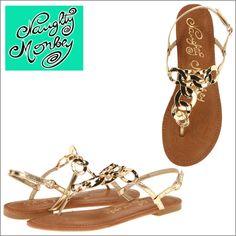 #gold #sandals