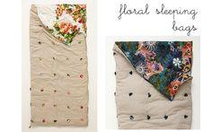 Anthropologie sleeping bag/DIY kids blanket/bag
