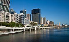 Downtown waterfront, Brisbane, Australia #brisbane