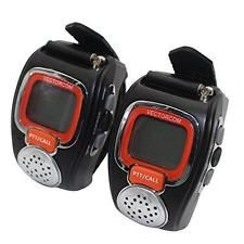 VECTORCOM Portable Digital Wrist Watch Walkie Talkie Two-Way Radio for Outdoor