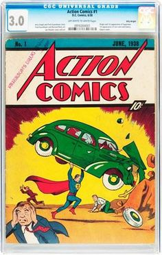 Comics trove found in closet fetches 3.5 million dollars (AP)