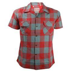 LEVI'S Vintage ® - 1950s Open Collar Check Shirt