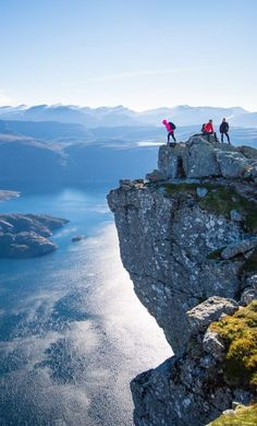 Hiking in the Fjord Coast