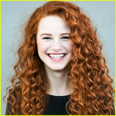Riverdale's Madelaine Petsch Rocks Curly Red Hair For New 'Redhead Beauty' Book - See The Full Shoot!