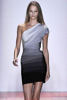 HERVE LEGER DRESS @Michelle Coleman-Hers