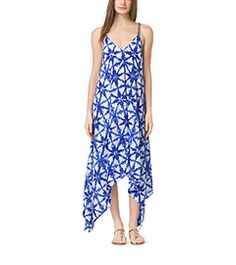 Tie-Dye Crepe Dress by Michael Kors