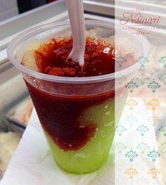 Rosca de Frutas y Verduras con Chamoy Náinari | roscas de chamoy ...