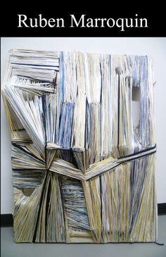Marroquin Ruben: Ruben Marroquin White Light 2011-2012 Cotton,...