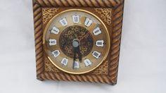 Vintage Hettich W 41 Wall Clock 70ers by AustriaAntiqueStore