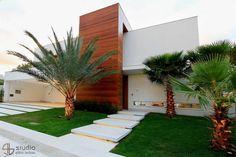 Residência J&F - projeto arquitetônico: Paulo Delmondes | fotos: Gilson Barbosa: Casas modernas por Studio Gilson Barbosa