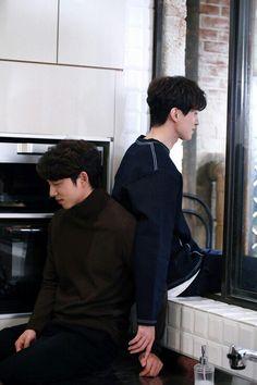 Hot Korean Guys, Korean Men, Korean Actors, Gong Yoo, Goblin The Lonely And Great God, Lee Dong Wok, Goblin Korean Drama, Korean Couple Photoshoot, Goblin Kdrama