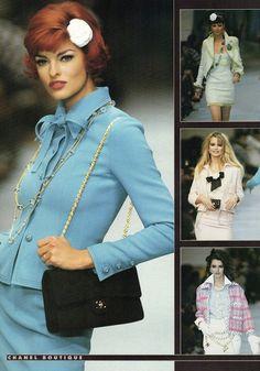 005906a0c0a7 1992 Vintage Runway - Chanel Boutique