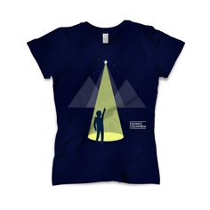 """""""Notice the human"""" T-shirt - clothes with deep meaning."""