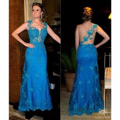 O vestido top de hoje 💙 by Rossella Rosa #rossellarosa #rosselletes #weloveit #top #altacostura #cute #love #lace #fashion