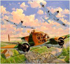 POTEZ 63-11 des GAO vs Bf-109E (Mayo-junio 1940). Daniel Bechennec