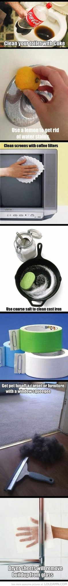 29 #Household Cleaning #Hacks to Try ...