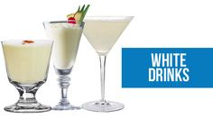 White Coloured Cocktail, Shot Recipes, Cocktail, Shots and Drink Recipes - How to