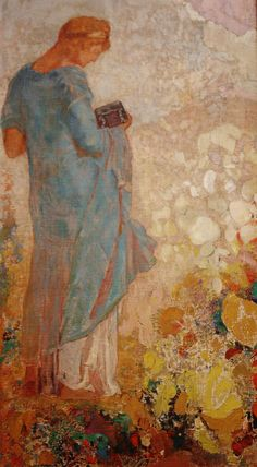 Pandora, oil on canvas, 1910/1912, Odilon Redon (French, 1840-1916), National Gallery of Art, Washington DC, 2012.