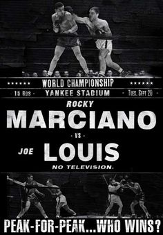october 26 1951 Rocky Marciano defeated Joe Louis