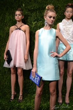 Kate Spade Spring 2014  That pink dress.