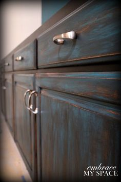 DIY Furniture Distressing