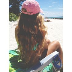 Beach waves are perfect for every season and every length. So in this post we collected the best pictures of Beach Wavy Hairstyles that you love ! Beach Bum, Pretty Hairstyles, Beach Hairstyles, Wavy Hairstyles, Hairstyle Ideas, Summer Of Love, Strand, Summer Vibes, Hair Goals