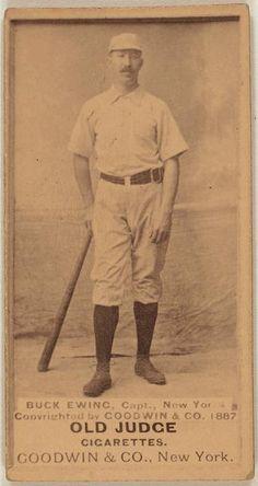 Buck Ewing, New York Giants, 1887