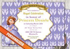 Princess Sofia Greeting Card PC040