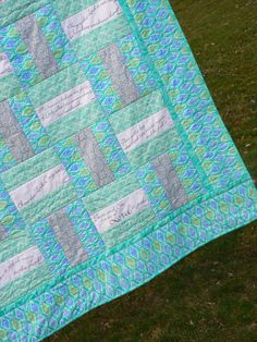 Comfort of Psalms Scripture quilt ... lap quilt ... comfort quilt ... wall hanging  horizon fabrics ...